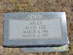 Alvie Lee Ables