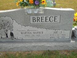 Martha Elizabeth <i>Barber</i> Breece