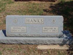 Bertha A Hanks