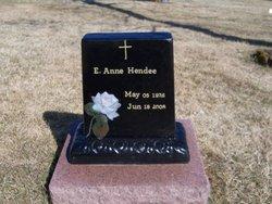 E. Anne <i>Robinson</i> Hendee