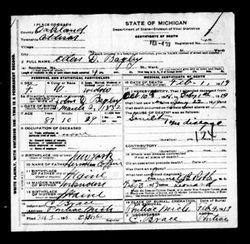 Ellen Diantha Diantha <i>Coffin</i> Bagley