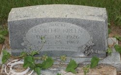 Haskell Mack Green