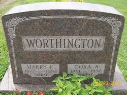 Cora Alice <i>Jacobs</i> Worthington