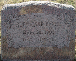 Ruby Estalee <i>Earp</i> Black