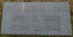 Ella Miriam <i>Mitchell</i> Cox