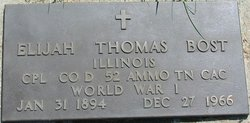 Elijah Thomas Bost