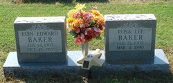 Rosa Lee <i>Evans</i> Baker