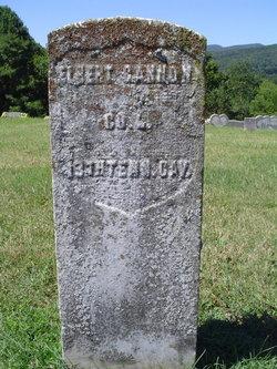 Pvt Elbert Finn Cannon