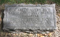 Elizabeth Avery Bice