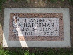 Leanore M <i>Nelson</i> Haberman