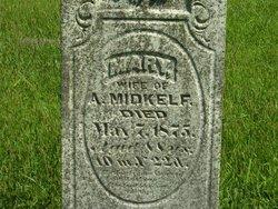Mary <i>Mitchell</i> Midkelf