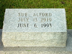 Willie Sue <i>Barnes</i> Alford