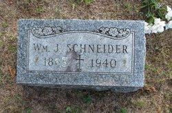 William Joseph or Joachim Schneider