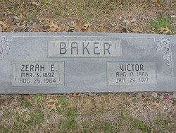 Zerah E. <i>Cotten</i> Baker