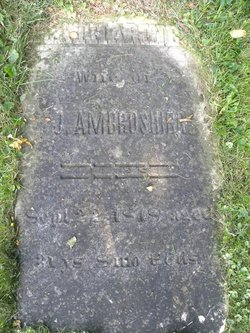 Catharine B. <i>Decker</i> Ambrosier