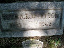 Ruth Almeda <i>Wilson</i> Robertson