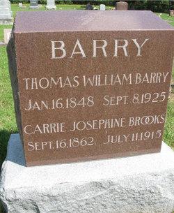 Carrie Josephine <i>Brooks</i> Barry