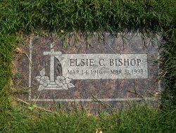 Elsie L <i>Church</i> Bishop