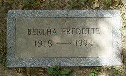 Bertha Fredette