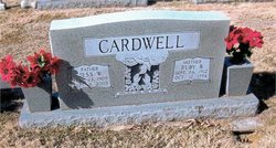 Ruby Lou Ellen <i>Bumgarner</i> Cardwell