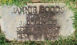 Rebecca Jane Jannie <i>Boggs</i> Boyles