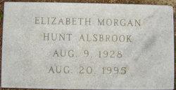 Elizabeth Morgan <i>Hunt</i> Alsbrook