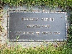 Barbara Alkire
