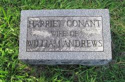 Harriet <i>Conant</i> Andrews