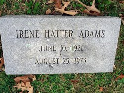 Irene Hatter Adams