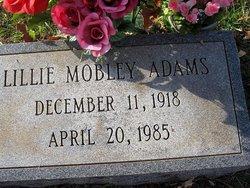 Lillie Mobley Adams