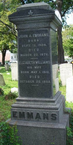 Elizabeth <i>Williams</i> Emmans