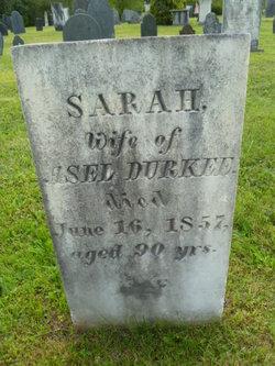 Sarah Sally <i>Preston</i> Durkee