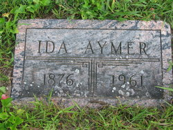 Ida Amelia <i>Johnson</i> Aymer