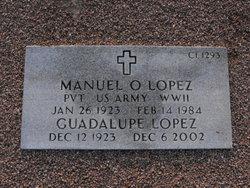 Pvt Manuel Orona Lopez