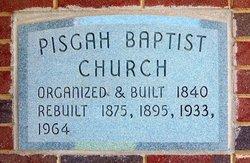 Pisgah Baptist Church Cemetery