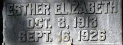 Esther Elizabeth Ahlf