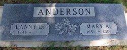 Mary Adaline <i>Floyd</i> Anderson