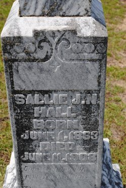 Sarah Sallie <i>Hobby</i> Hall