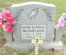 Naomi <i>Randall</i> McFarland
