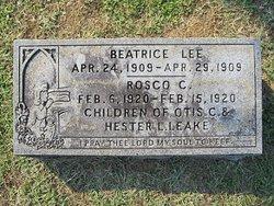 Beatrice Lee Leake