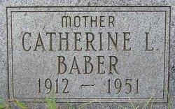 Catherine L <i>Dressel</i> Baber