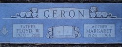 Mary Margaret <i>Claunch</i> Geron