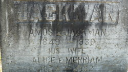 Amos L Jackman