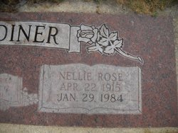 Nellie Rose <i>Greenhow</i> Gardiner
