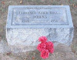 Florence Alice <i>Biggs</i> Johns