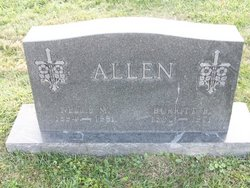 Nellie Margaret <i>Boosinger</i> Allen