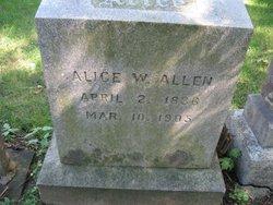 Alice W. <i>Morse</i> Allen