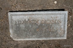 Elizabeth <i>Howell</i> Dickson