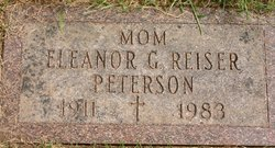 Eleanor Gertrude <i>Carlson</i> Peterson
