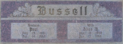 Alice <i>Holland</i> Bussell